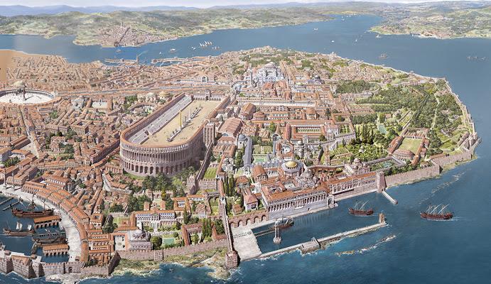 Konstantin'in Şehri Konstantinopolis
