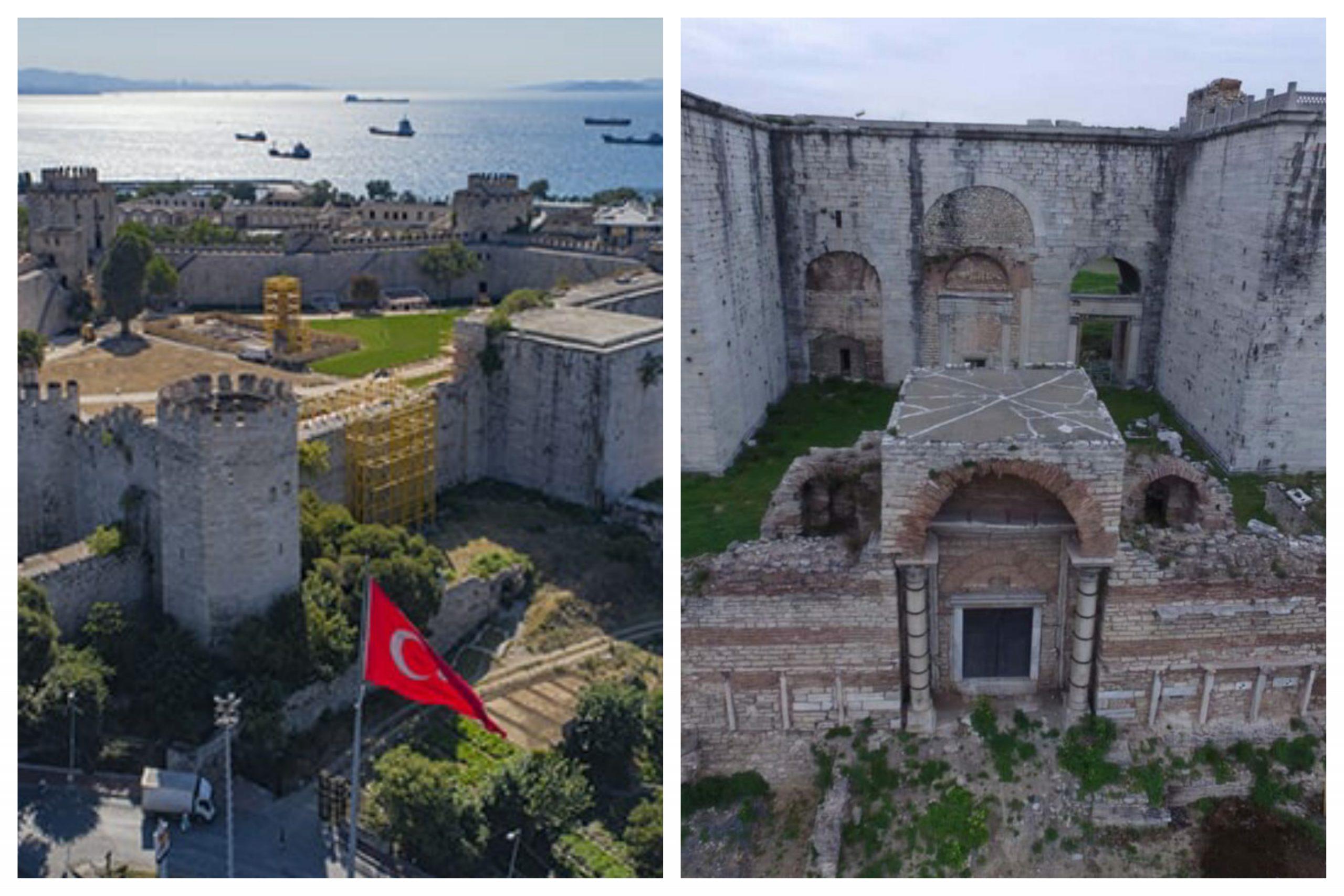 Konstantinopolis İmparatorluk Yolu ve Altın Kapı