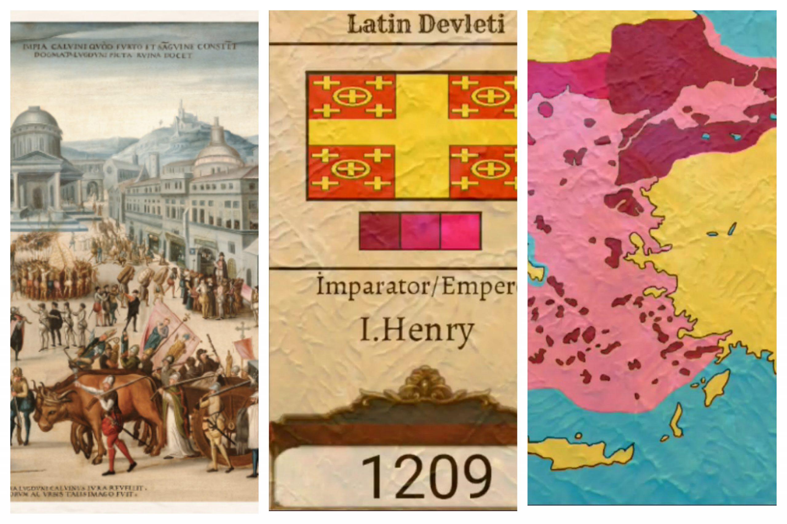 Konstantinopolis'te Latin Katolik İmparatorluğu