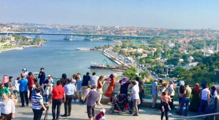 Golden Horn Haliç ve Konstantinopolis
