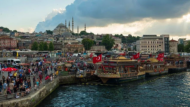 İstanbul'un Ticari Kalbi Eminönü