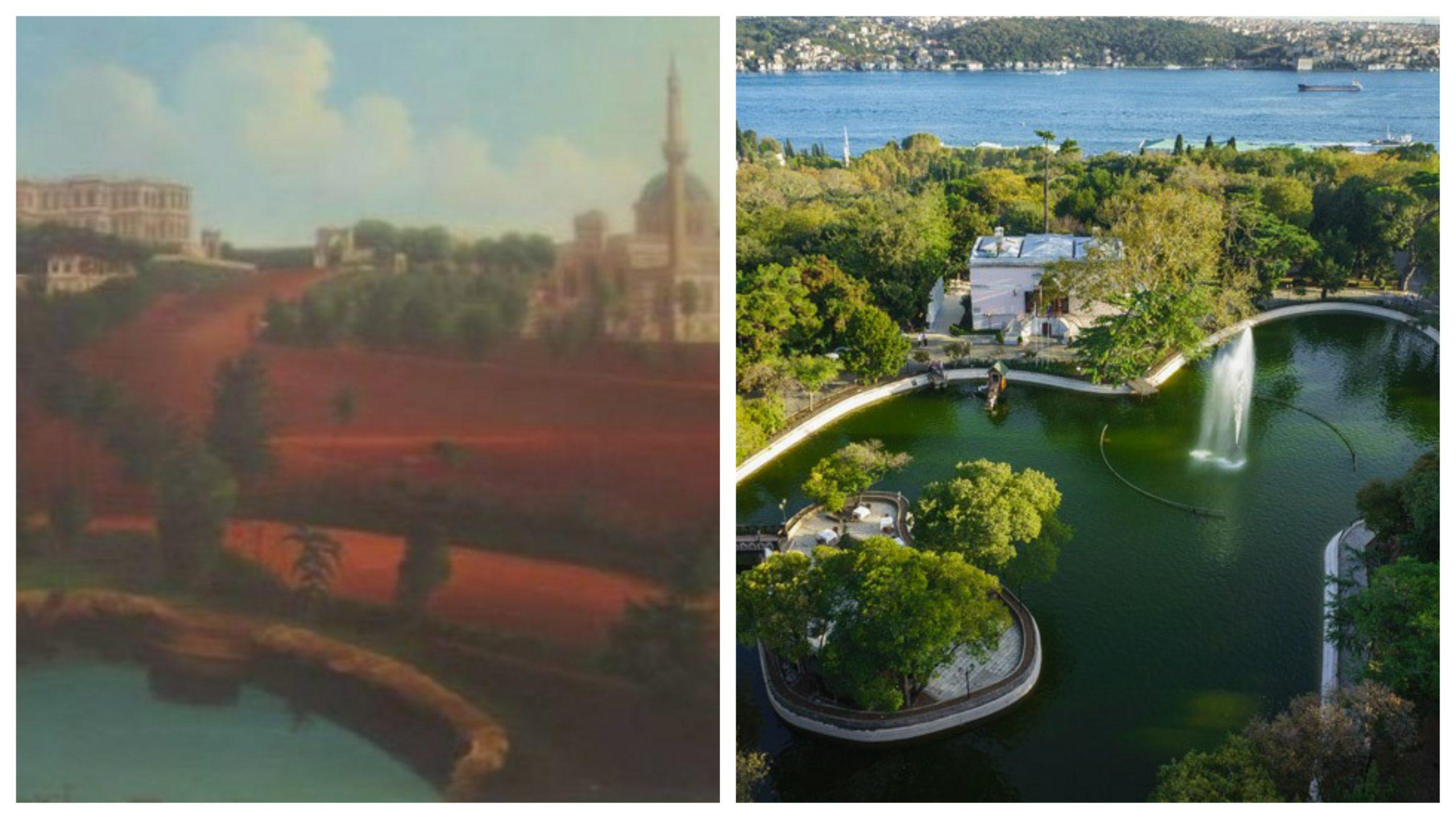 İstanbul Yıldız Sarayı'na Panoramik Bakış